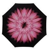 صامد للريح [سلف-ستندينغ] سيارة [سون] مطر ترك يزهر يعكس مظلة عكسيّ يطوي مظلة