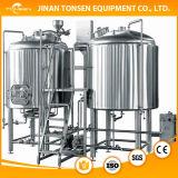 Tun de erva-benta cónico do aço inoxidável para fabricar cerveja
