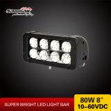 Barra ad alto rendimento del LED del CREE fuori strada 80W LED Lgiht della barra 8 ''