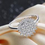 여자 925의 순은 눈송이 개성 상한 주문 결혼 반지