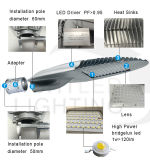 Warranty 5 년 100W Outdoor Waterproof IP65 LED Street Light