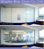 Pdlcのフィルムが付いている切替可能でスマートな窓ガラス