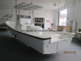 7.6m Fiberglaspanga-Boots-Handelsfischerboot-China-Boots-Fabrik