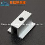 Profil en aluminium pour le profil en aluminium d'extrusion de mur rideau de portes de Windows