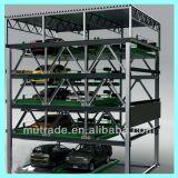 Matériel automatique de stationnement de véhicule de quatre niveaux