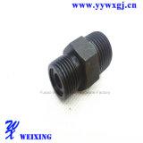Ajustage de précision convenable de couvercle d'embout d'oxyde de Wx16-127steel de bride noire d'amorçage mâle