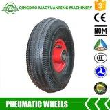 """10 """" rotelle resistenti del carrello di Qingdao con gli orli del metallo"""