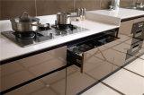 A cozinha 2016 personalizada simples moderna projeta gabinetes de cozinha da laca
