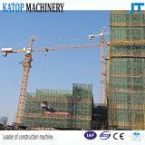 4t Spitze-Eingabe-Aufbau-Turmkran der Eingabe-48m der Hochkonjunktur-1t