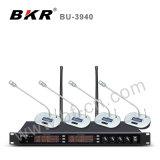 Système sans fil de microphone de conférence de fréquence ultra-haute du professionnel Bu-3940