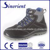 Calçados impermeáveis RS6128 da segurança industrial da injeção elevada do plutônio do corte