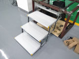 Es-F-t Aluminum Electric Three Folding Steps mit CER Certificate Can Load 150kg