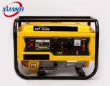 2500W 7HP 단일 위상 휴대용 전기 가솔린 발전기