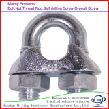 DIN741 철사 밧줄 클립, 스테인리스, 탄소 강철
