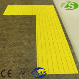 Heißer Verkaufs-Straße Tast-Belüftung-Fußboden-Gummifliesen für Vorhänge