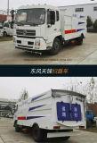 Camion de lavage de balayeuse de route du camion 4*2 de rue chaude de vente