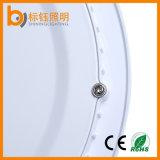15W redondo delgado SMD2835 AC85-265V Aluminio Shell luz del panel del techo