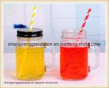 La fabbrica fornisce al vaso freddo della tazza/muratore di vetro bevente il coperchio del metallo