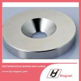 Forte N35 anello personalizzato potente magnete permanente neodimio/di NdFeB per i motori