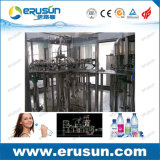 Água mineral 3 in-1 que enxágua a máquina de enchimento de enchimento e tampando da água