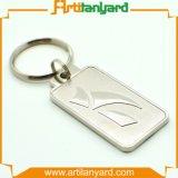 Trousseau de clés de logo d'affaires de modèle de cavité de propriétaire