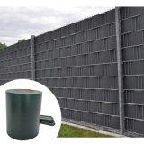 100%UV 폴리에스테 PVC 담 지구 정원 방수포 Ral7016