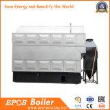 Caldaia a vapore di legno industriale della biomassa della griglia fissa