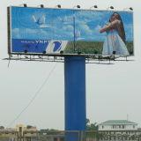 Im FreienAluminium Tri-Vision Billboard mit Polen (F3V-131S)