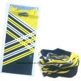 Le produit d'OEM conçoivent le cuir épais sans joint estampé Headwear de magie de tube de Microfiber de sports promotionnels d'élastique