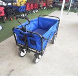 Kid Usando vagão dobrável / carrinho de criança / portador