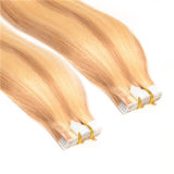 "20 "" 100%年のRemy Tape Hair、Human Hair ExtensionsのPU Skin Weft 100g/Set 40PCS Tape"