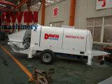 Pompe concrète de moteur électrique avec le conteneur convenable de canalisation en acier de 100m à exporter de Chine