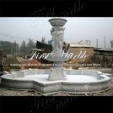 Fonte de mármore Mf-569 de Metrix Carrara da fonte do granito da fonte da pedra da fonte