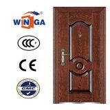 Дверь популярной обеспеченностью входа Sunproof надувательства стальная (W-SZ-04)