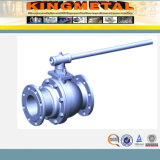 ANSI B16.34 Flanged Ball Valve mit ISO5211 Direct Mounting Pad