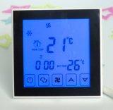 Calefacción Refrigeración Termostato con tiempos para el programa