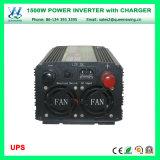 充電器(QW-M1500UPS)が付いているDC48V AC220/240Vインバーター1500W UPS車インバーター