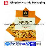 China fêz a folha de alumínio plástica a embalagem Nuts ensacar/empacotamento de alimento