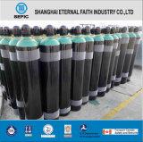 Cilindro de gas de hidrógeno del acero inconsútil de la alta calidad