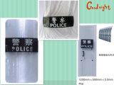 Polizei-Militärantiaufstand-kugelsicheres Schild