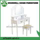 木製のフランスの映された家具