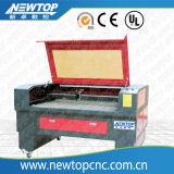 Laser-Ausschnitt und Gravierfräsmaschine für Materialien des Leder-usw. Nometal (6090)