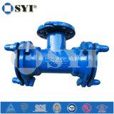 Штуцер дуктильного утюга ISO2531/En545/En598/GB13295 механически совместный