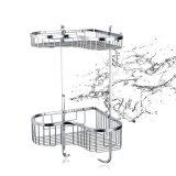 새로운 목욕탕 부속품 스테인리스 금속 저장 선반 (SUS304)
