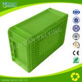 Recipiente plástico recicl dobrável reusável do armazenamento do recipiente plástico da alta qualidade