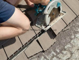 Blockierender hölzerner zusammengesetzter Plastikbodenbelag