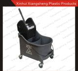 Фабрика Direct Sale Mop Wringer Double Buckets для Hotel и Restaurant