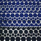 El doble colorea la ropa 100% de la tela del cordón del poliester Accessorie para la alineada 0006