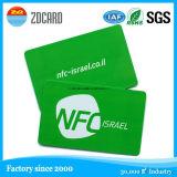 Smart Card senza contatto del chip Card/NFC/biglietti da visita trasparenti liberi dello spazio in bianco