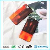 Caisse changeante de téléphone de couleur sensible à la chaleur pour l'iPhone 6/6 positifs/6s/6s plus